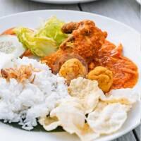 Ayam Goreng Saus Padang