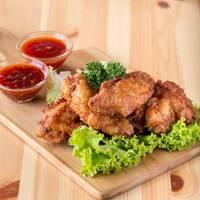 Singapore Tzi-char Chicken Wings